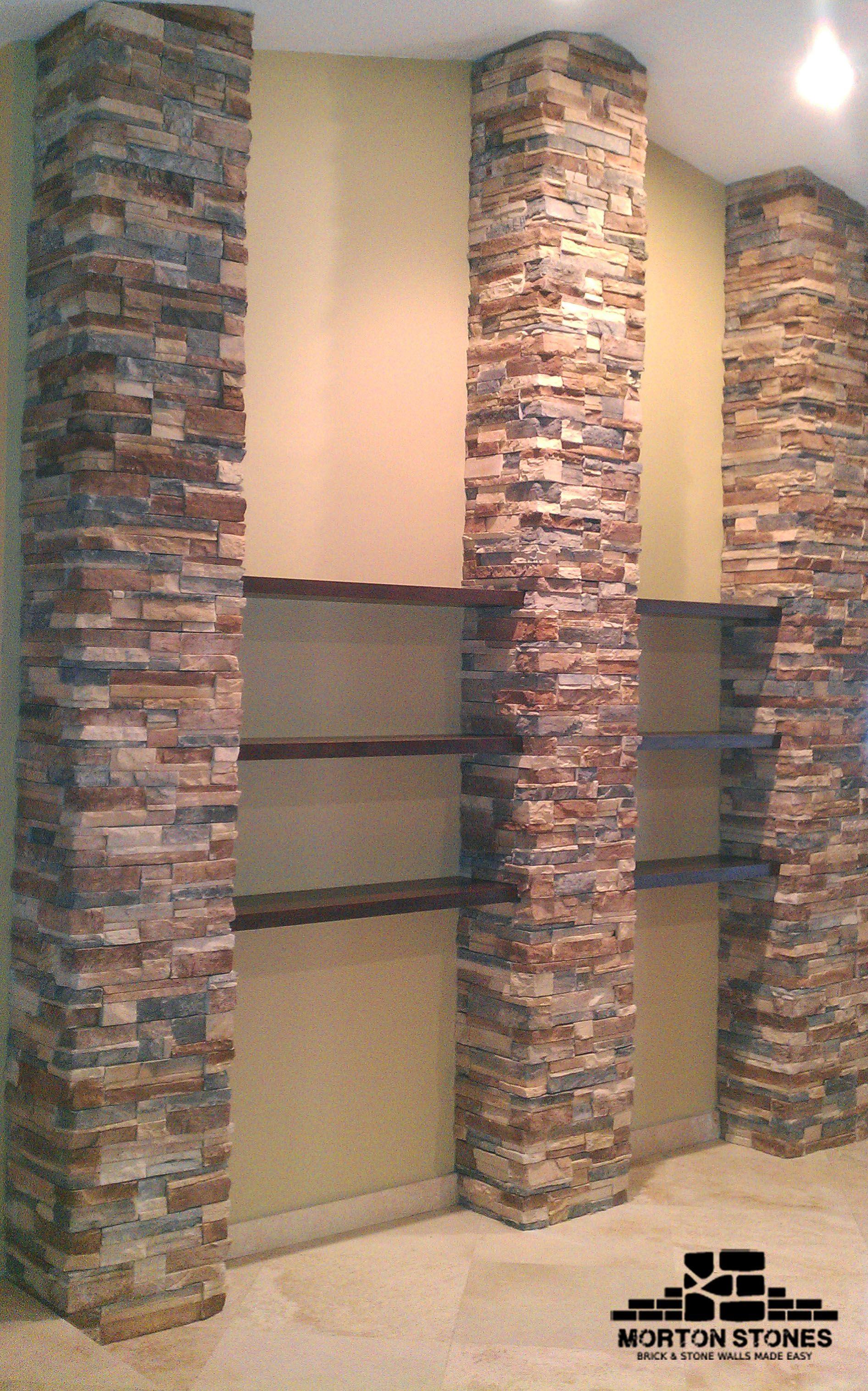 Motonstone Gift Card Stone Columns Stone Columns Interior Brick Veneer