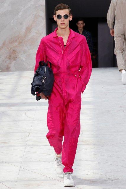Louis Vuitton Springsummer 2015 Menswear Fashionably Pink