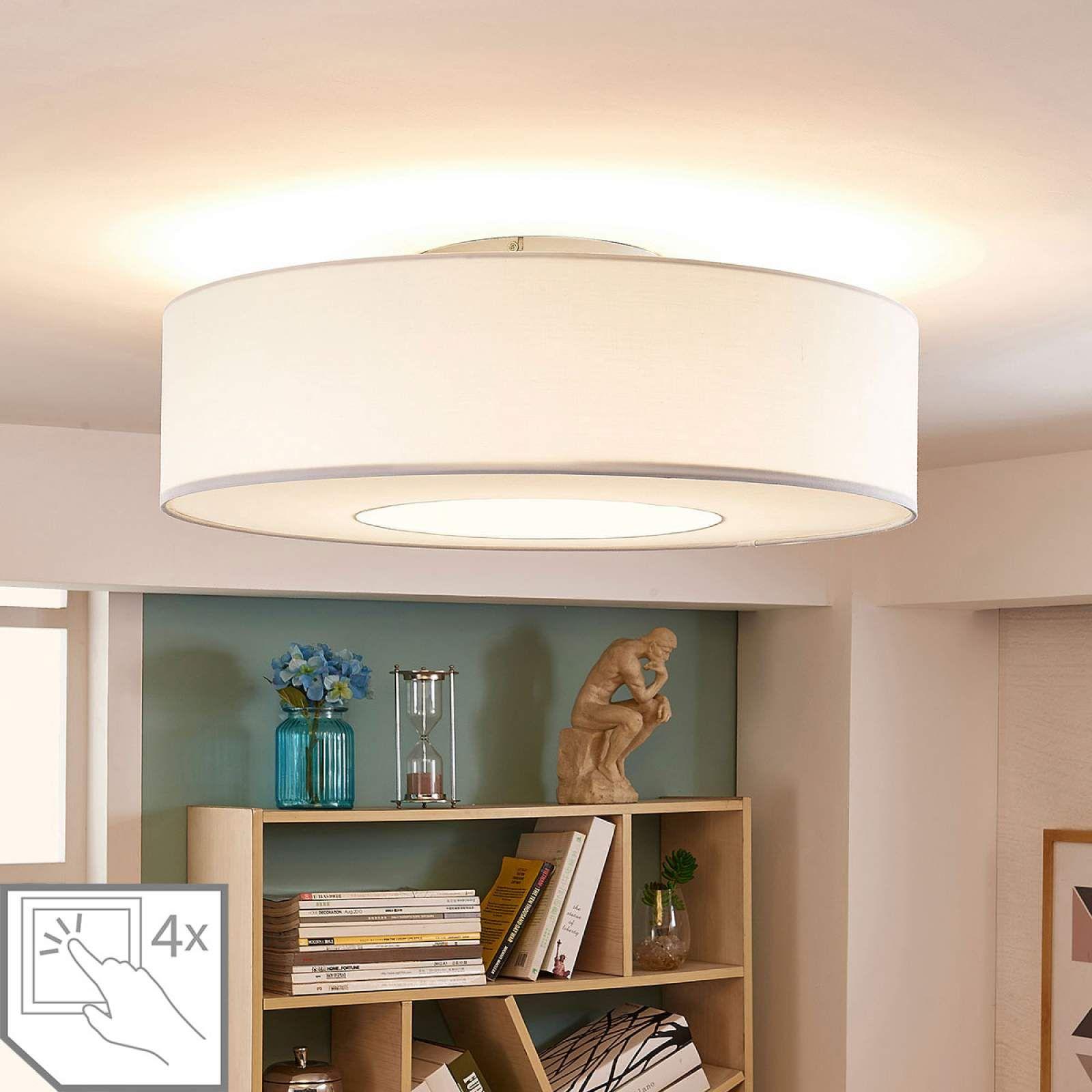 Moderne Deckenleuchte Von Lampenwelt Com Weiss Wohnraum Beleuchtung Lampen Und Led Deckenleuchte
