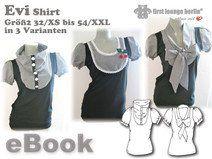 Evi♡,ebook,Top,Shirt,32-54,Nähanleitung,Schnitt