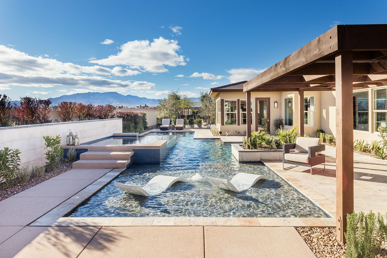 meridian plan 1 backyard with pool take it outside pinterest