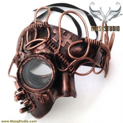 Reasonable Black Retro Rock Anti-fog Haze Gas Respirator Mask Carnival Party Cosplay Gothic Steampunk Props Halloween Costume Accessories Back To Search Resultsnovelty & Special Use Boys Costume Accessories