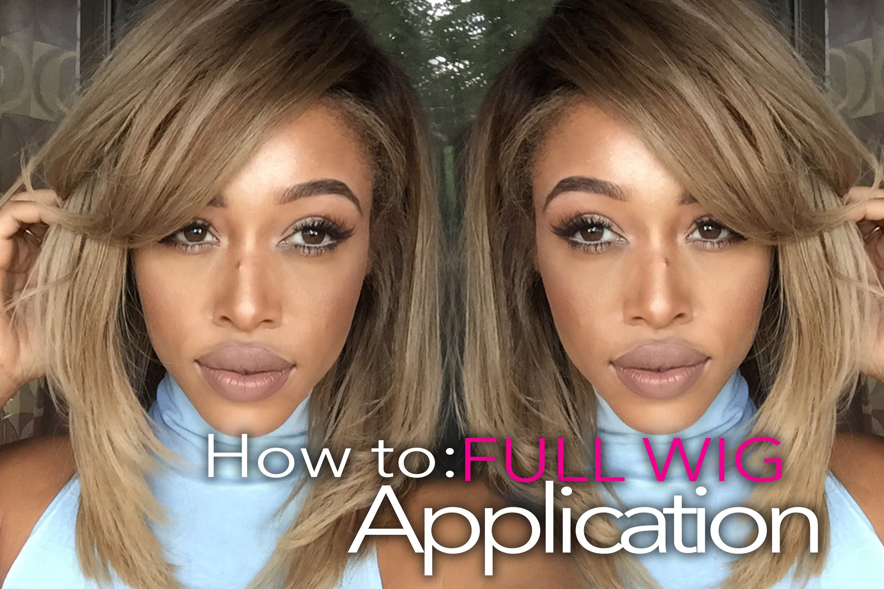 Applying a wig is simpler than you thought making a full