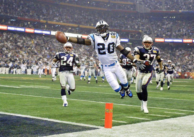 DeShaun Foster Best Super Bowl touchdown EVER Sports