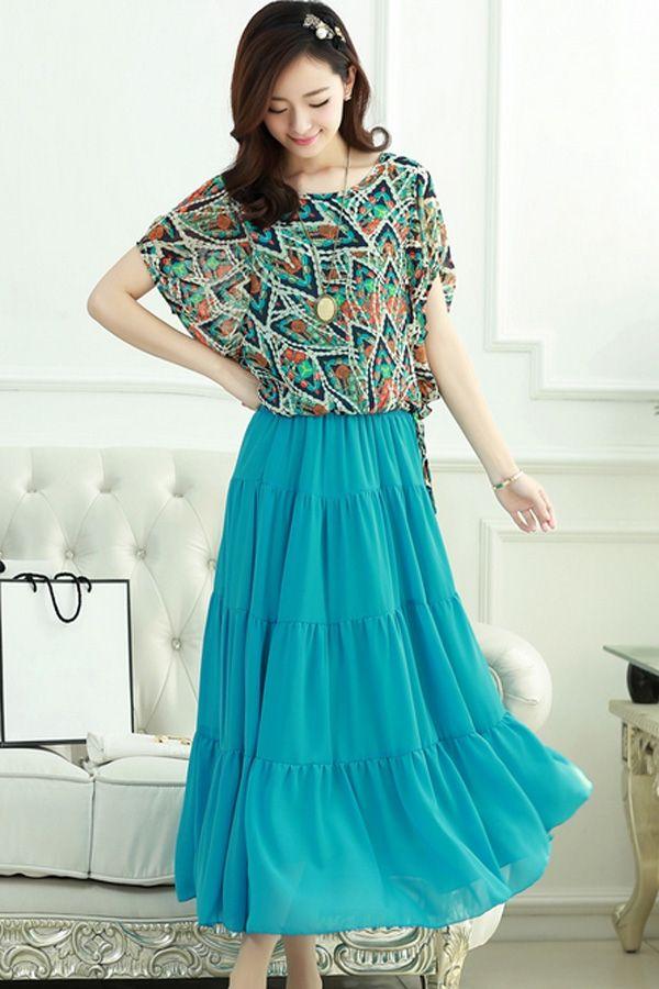 Stylish Vintage Dress Set