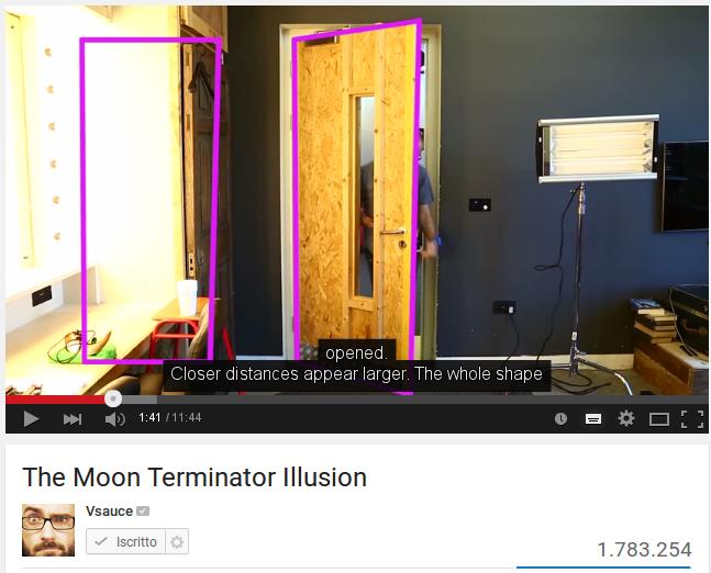 L'illusione del terminatore lunare e il mistero della coscienza / The Moon Terminator Illusion ,Do we see reality as it is?