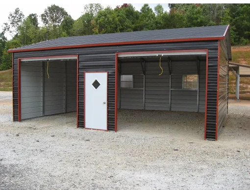 Here At Georgia Portable Buildings We Provide Factory Direct Pricing For Your Metal Carport Canopy Fully Cust Metal Carports Metal Buildings For Sale Carport