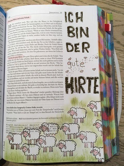 Conni\'s Bibel: Johannes 10 Der gute Hirte und seine Schafe | Bible ...