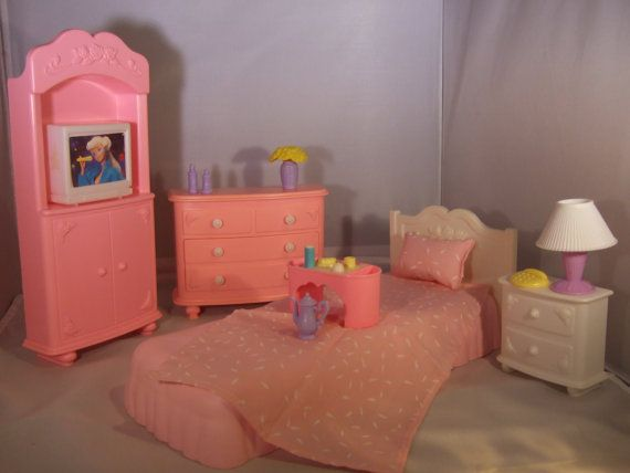 Beautiful Barbie Bedroom Set From 1990 By CottageonCloverHill