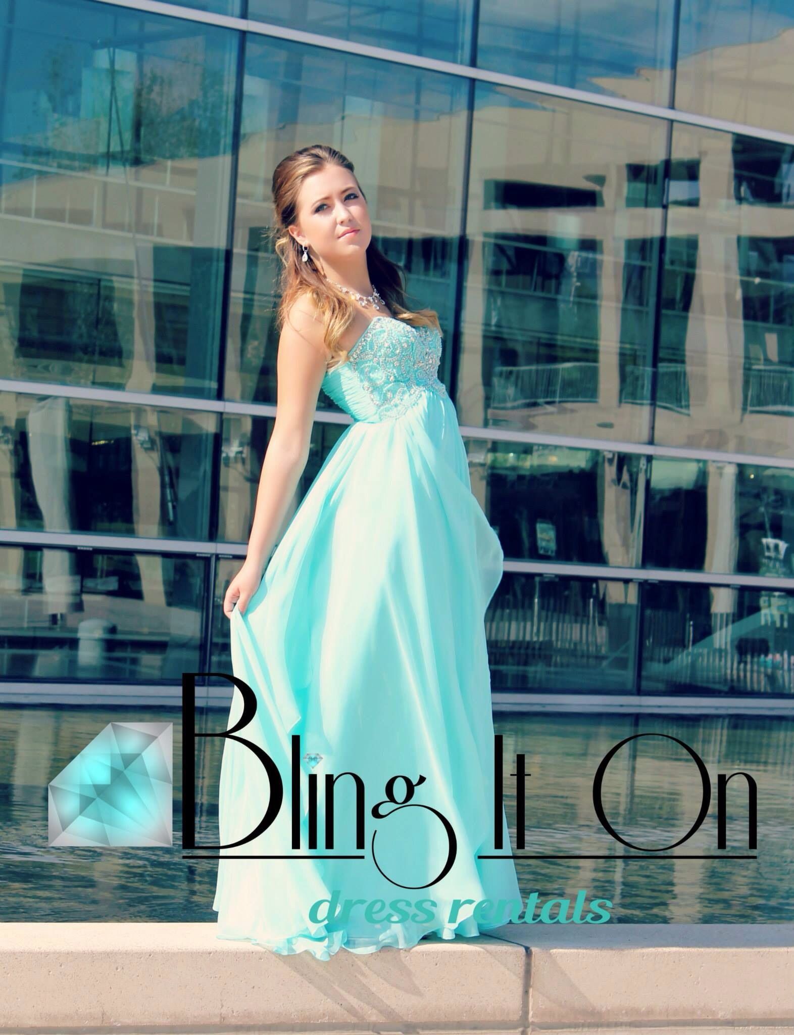 Aqua Long Homecoming Or Prom Formal Dress All Dresses Available At