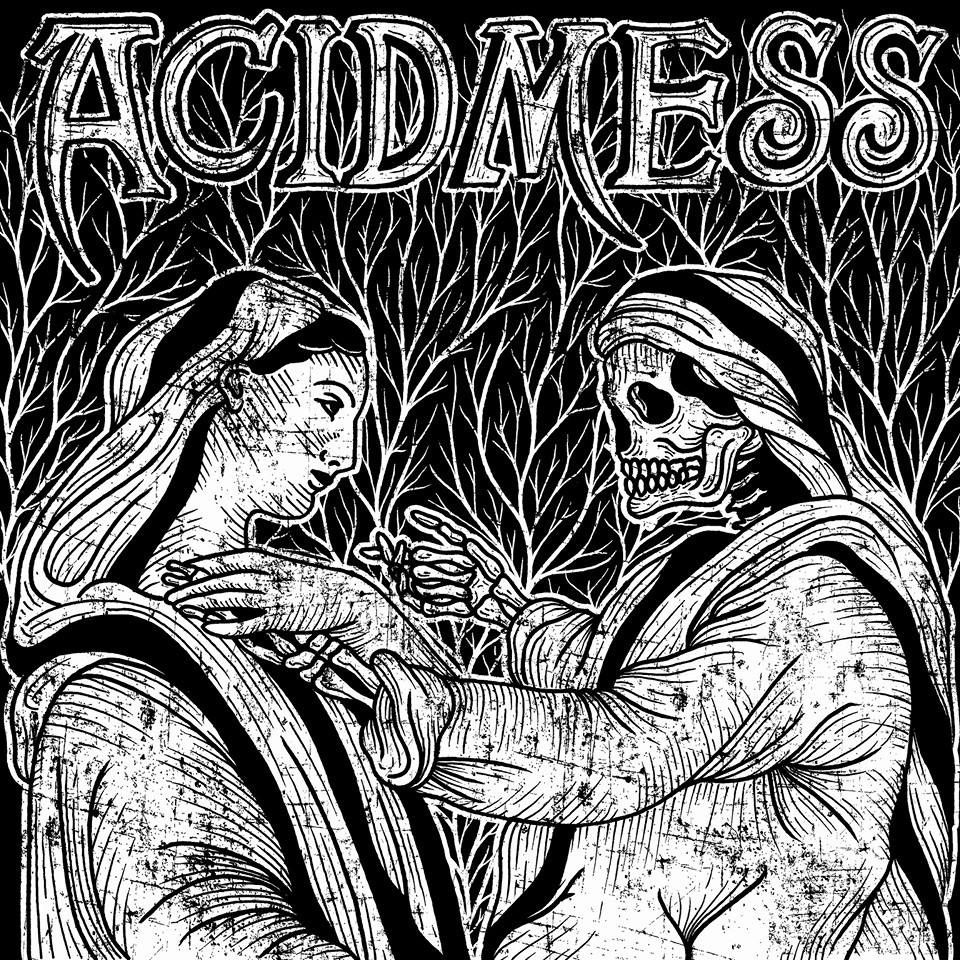 "Album cover by David Diz Borrajo for ""Madre Muerte"" by Acid Mess"
