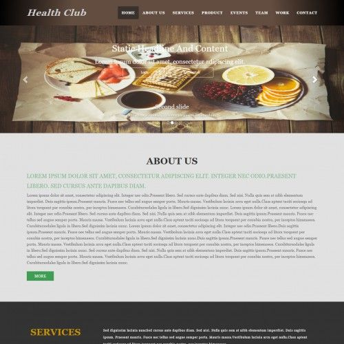 Single page responsive 2 column web template templates single page responsive 2 column web template pronofoot35fo Images