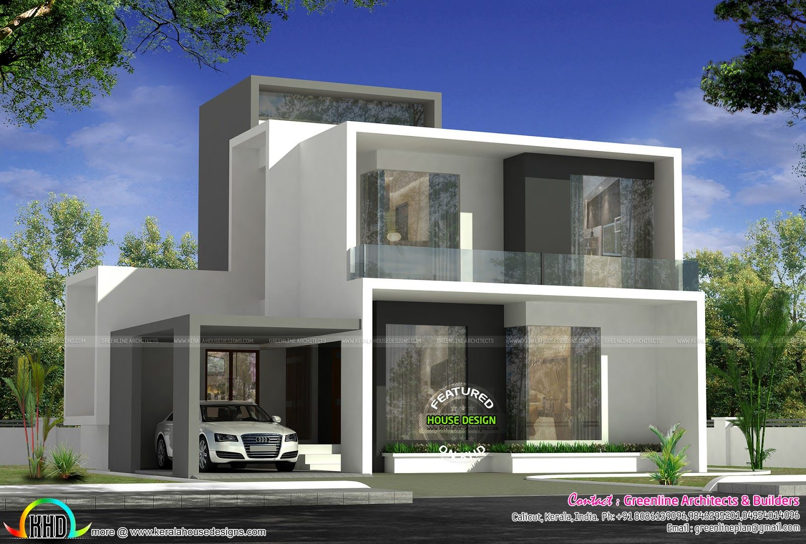 Cute Simple Contemporary House Plan Contemporary House Plans Latest House Designs Contemporary House