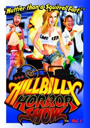 From Leomark Studios. Hillbilly Horror Show  is a one-hour anthology of short horror films created by up-and-coming filmmakers and hosted by our favorite, fun loving and beer-guzzling hillbillies, Bo, Cephus and their 'Smo-Kin' cousin Lulu. Created by award winning writer and producer Blu de Golyer ( House Of Good And Evil ) and veteran actor and producer Bo Keister ( Remember The Titans ). The team selects and curates some of the scariest, most entertaining horror shorts found on this here…