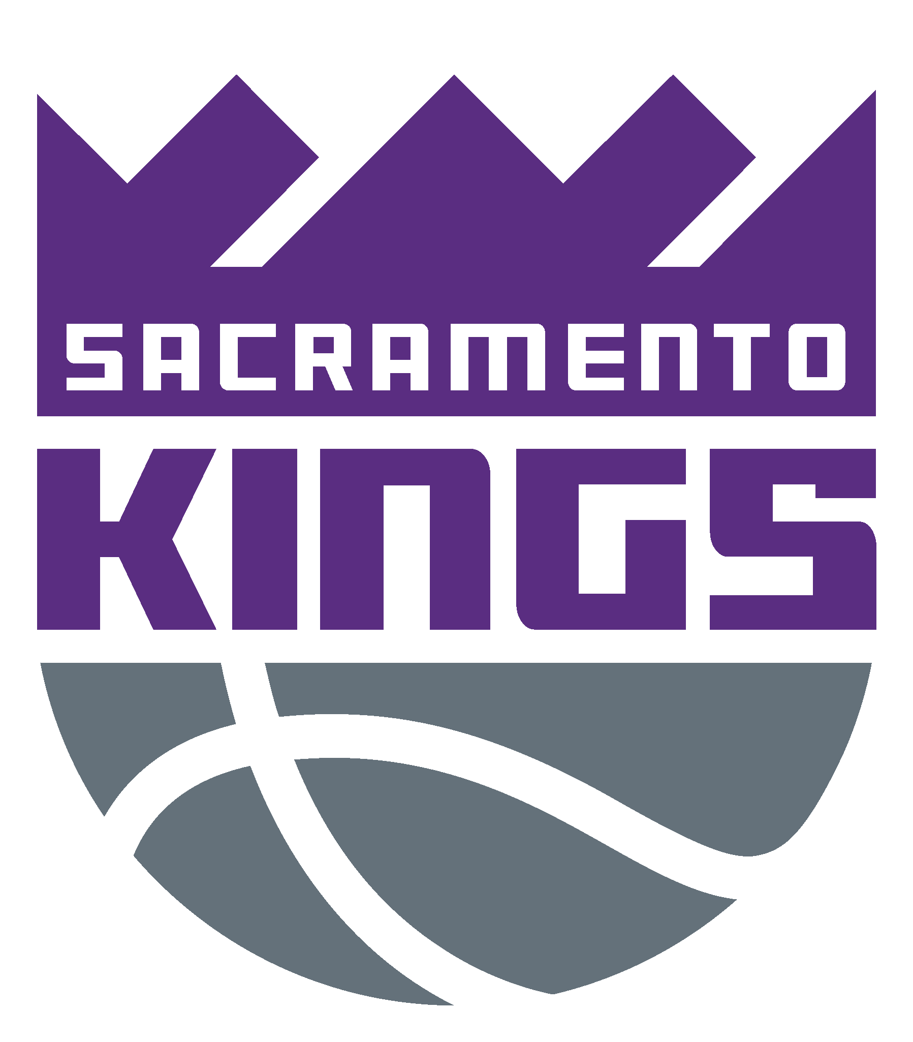 Sacramento Kings Logo Sacramento Kings Outdoor Logos Sacramento