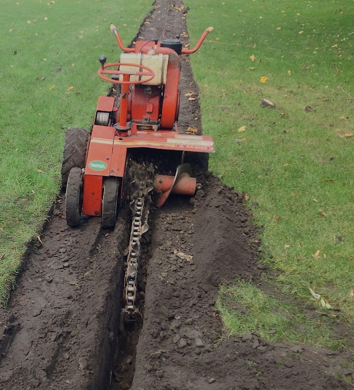 Epic Bel ftung u Aerifizieren u DitchWitch C u Rasen Drainage u Subsurface Compaction u Rasen