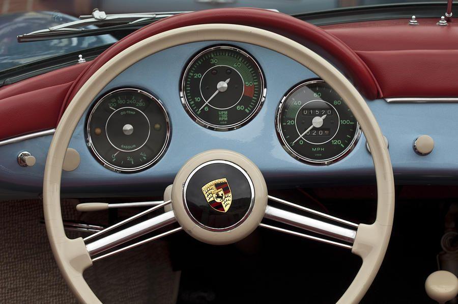 1957 Porsche 356a 1600s Speedster Steering Wheel Jill