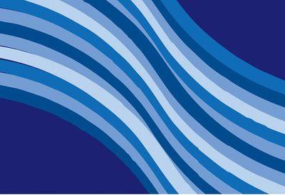 Blue Wave Rug: love the color scheme