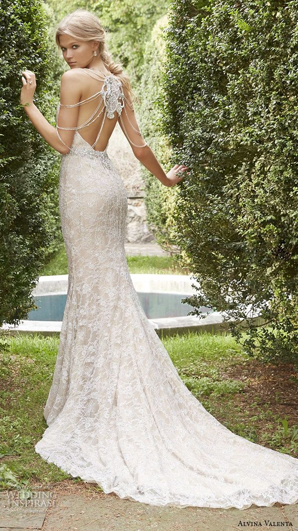 Wedding Dresses With Jewelry : Fall wedding dresses mermaid