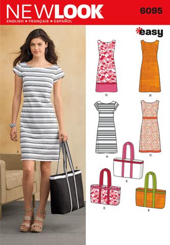 New Look Pattern: NL6095 Misses\' Dresses | Easy — jaycotts.co.uk ...