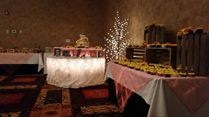 Decorate by design event planner Casper Wyoming country themed wedding
