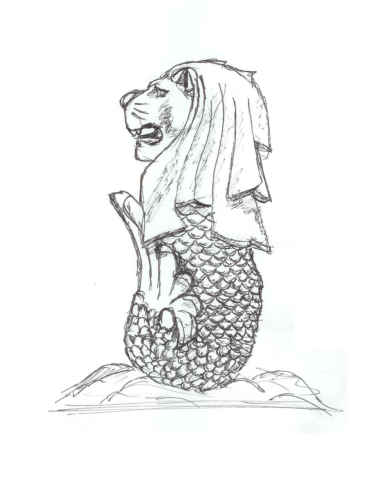 Merlion A Mermaid And A Lion