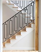 Best 16 Creative Stair Railing Ideas To Develop A Focal Point In Your Home Staircase Railing Design 400 x 300