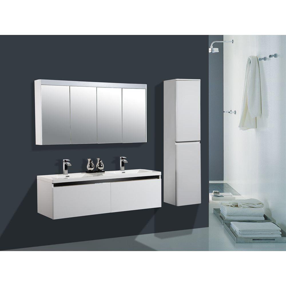 Shop Golden Elite AV60 Avanti 60-in Bathroom Vanity Set at ...