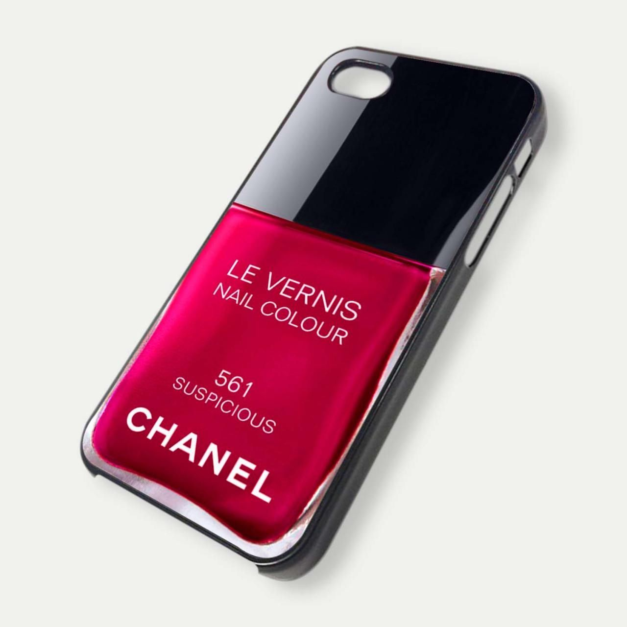 Chanel iPhone 5 Nail Polish Case {Suspicious}   Apple of my i ...