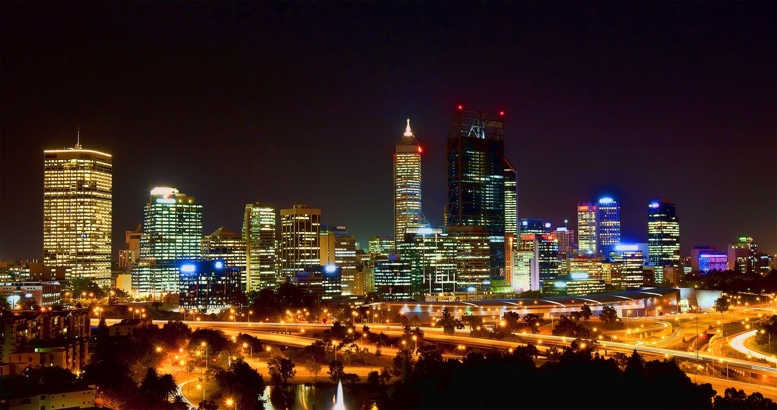 Landscape Photography Google Search Wonderful Places Kings Park Night City