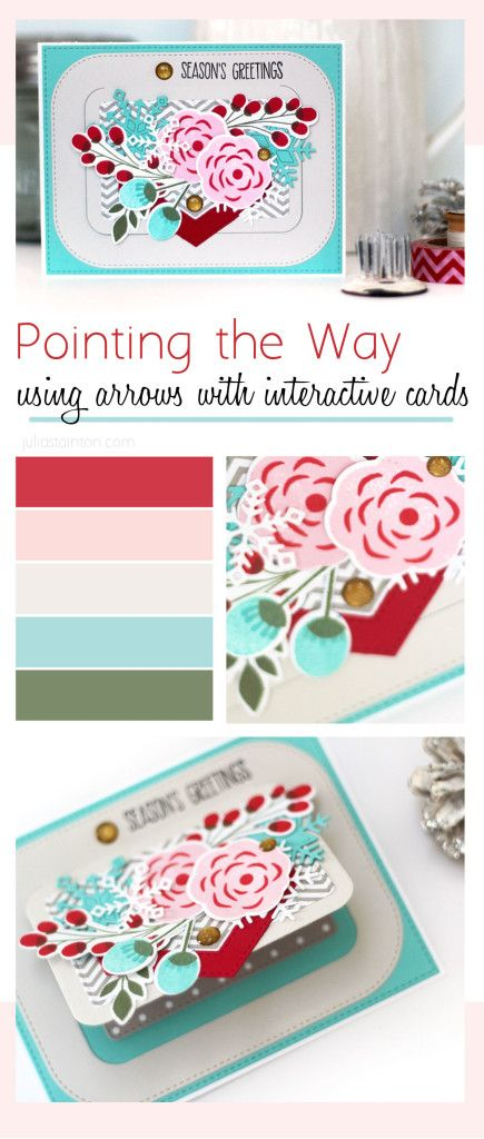 Directional Designing arrows to highlight interactive card