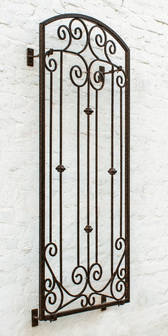 Large Garden Trellis Wrought Iron Metal Wall Screen With Wall
