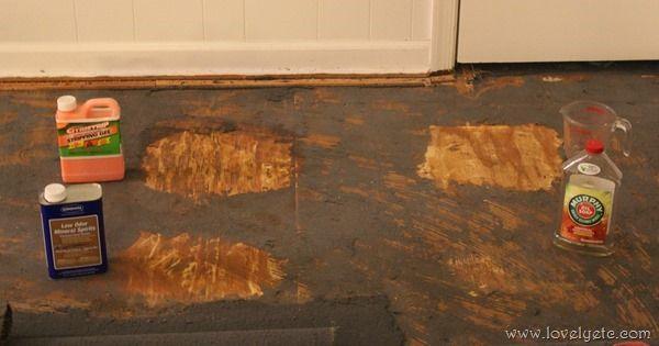 Remove Carpet And Leaving Concrete Floor