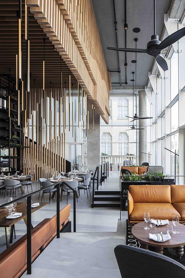 L28 Culinary Platform restaurant lounge space, Tel Aviv, Israel