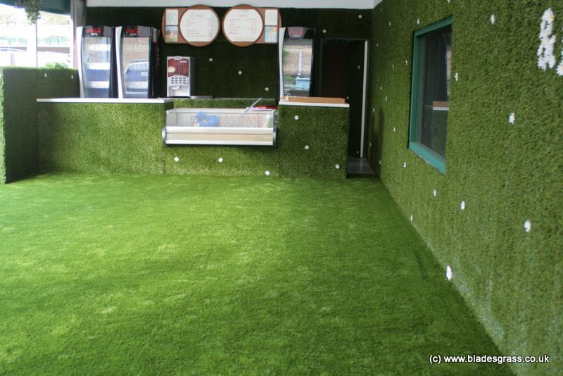 High Quality An Installation For Innocent Drinks For Their Sponsorship Of The Olympic  Games. Artificial Grass Installed On The Floors And Walls Of Their Juice Bu2026