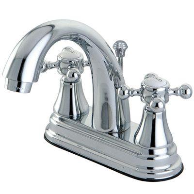 Elizabeth Centerset Bathroom Faucet With Drain Assembly Bathroom Faucets Kingston Brass Faucet