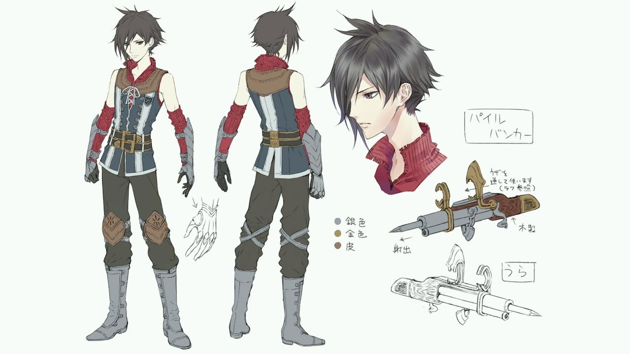 Latest 1280 720 Anime Character Design Game Character Design Character Design Male
