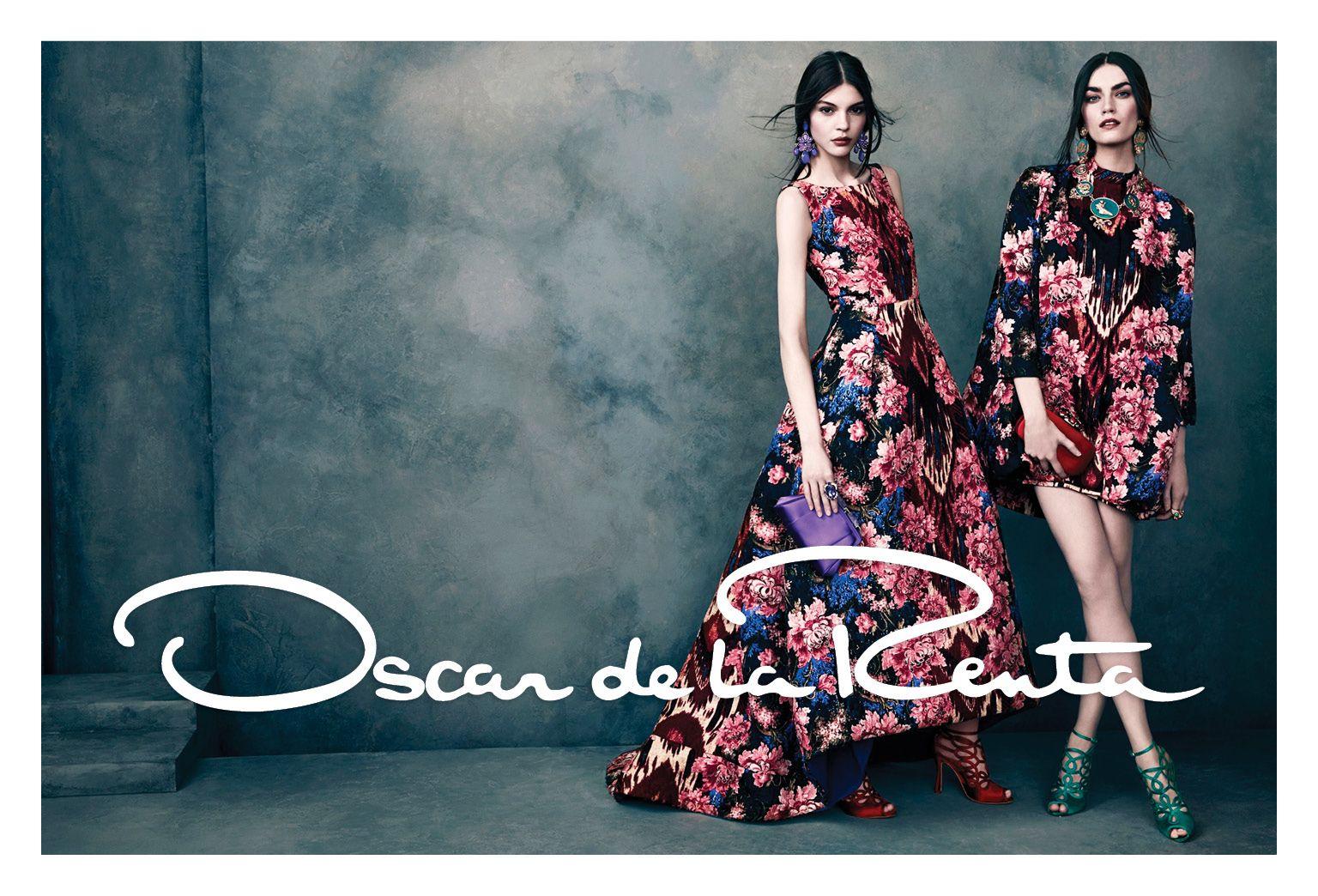 Oscar de la Renta 2013 campaign