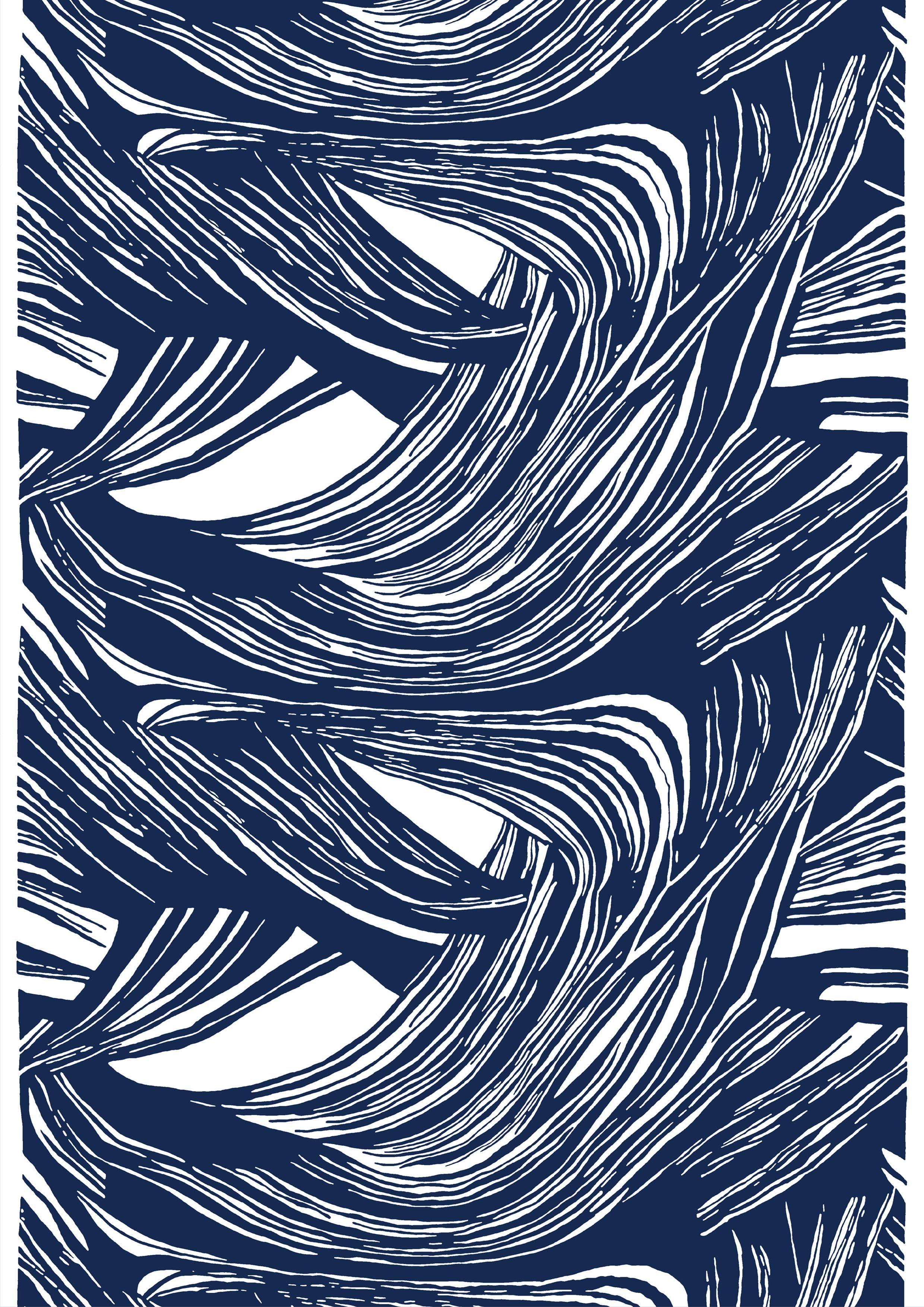 Kaisla, blue, design By Marjatta Metsovaara