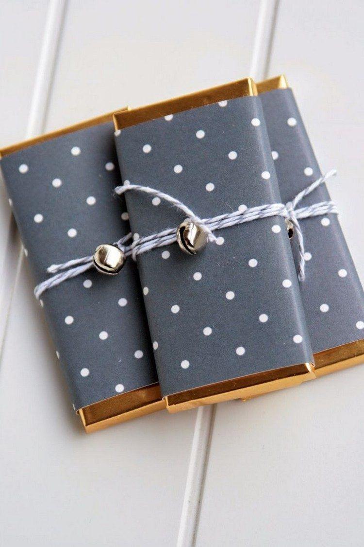 emballage cadeau original pour no l 2017 faire soi m me en 80 id es regalitos y decoraci n. Black Bedroom Furniture Sets. Home Design Ideas