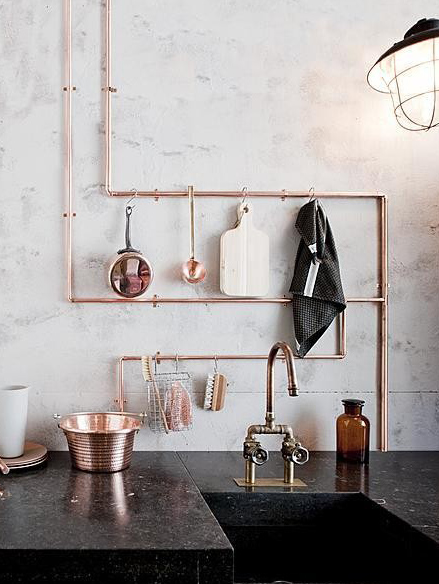 back to basics|bare necessities - copper.