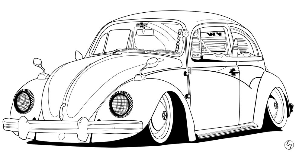 Pin by Amalia Martinez on Drawings t Volkswagen Vw