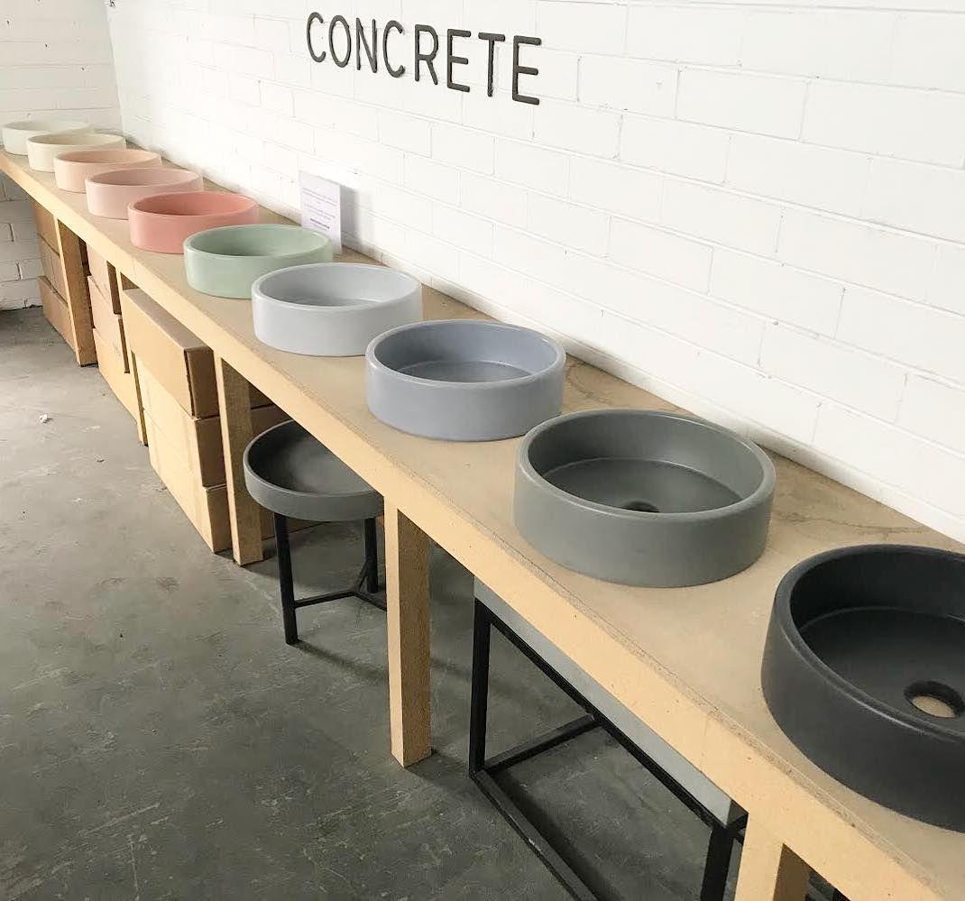 Nood Co On Instagram Perth 25 40 Off Concrete Sinks This Saturday 8th December 9am 2pm No Concrete Sink Concrete Countertops Bathroom Latest Bathroom Tiles