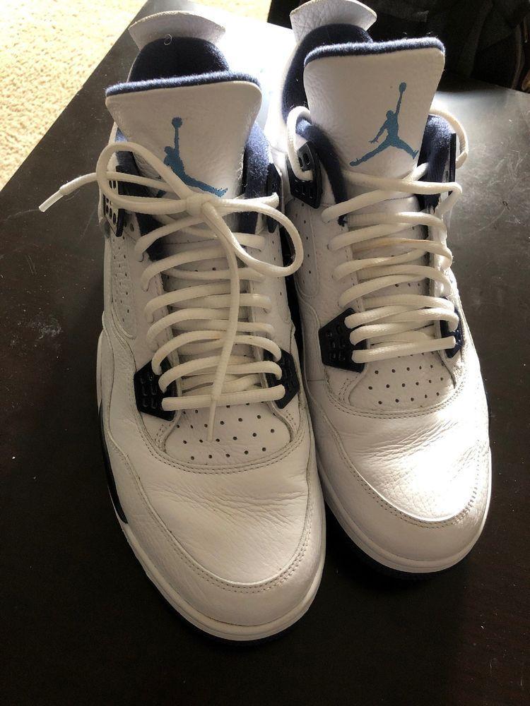 41d7004c499f18 NIKE AIR JORDAN 4 RETRO LS (LEGEND BLUE) BASKETBALL SHOES 314254-107 MENS  SZ 13  fashion  clothing  shoes  accessories  mensshoes  athleticshoes  (ebay link)