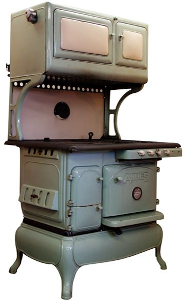 Vintage Stoves Gas And Wood Dual Fuel Combination