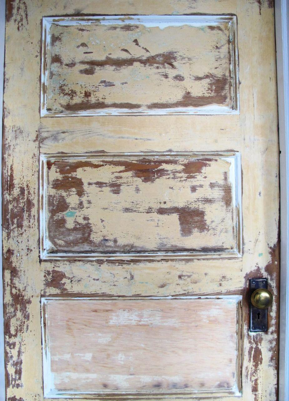 distressed door diy Repurposed finds