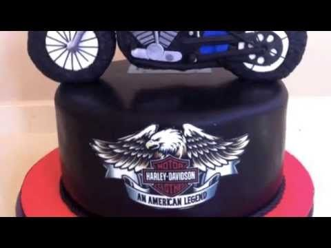 How To Make Bmw Motorcycle Cake Topper Fondant Pasta Di