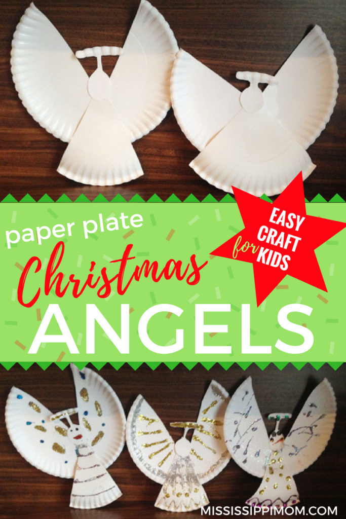 Easy Paper Plate Christmas Angels Craft | Crafts for Kids ...