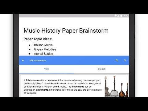 Google Docs Gets Voice Typing, Templates, Smart Sheets And More