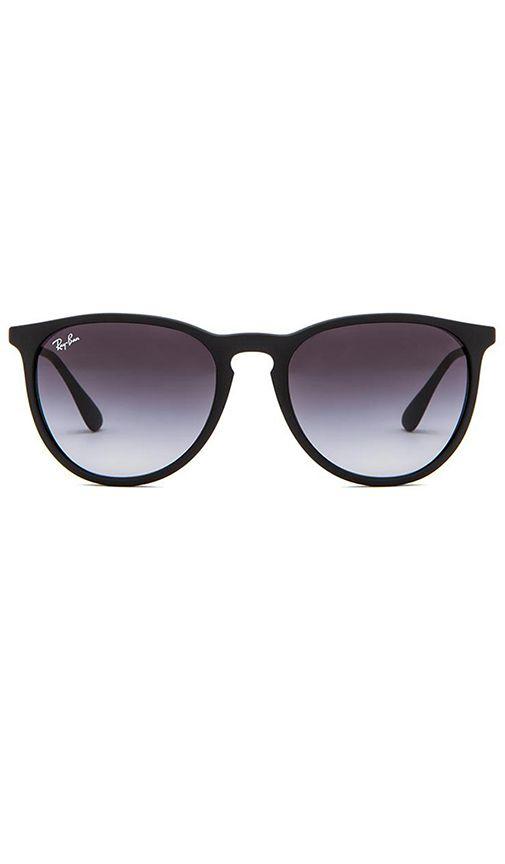 a932671953a0b Ray-Ban GAFAS DE SOL ERIKA en Negro   REVOLVE   glasses   Pinterest ...